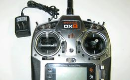 DX-8 radio w/4000 lip[o and charger
