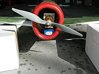 Name: IMG_2538.JPG Views: 5 Size: 599.0 KB Description: Battery in. Note that it sits just under the motor mount and just inside the cowl!