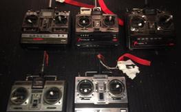 5 radios 72MHz
