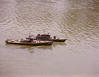 Name: USS Crockett w Sub Chaser.jpg