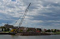 Name: DSC_0016.jpg Views: 5 Size: 470.2 KB Description: Dredge and hopper barges in the Manitowoc River on Thursday.