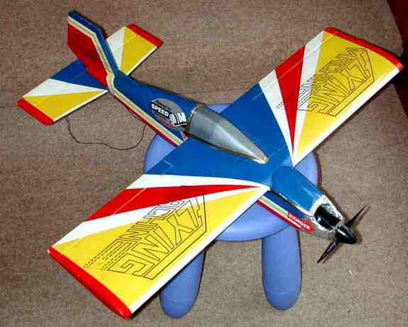 Mini Flying Machine e-conversion