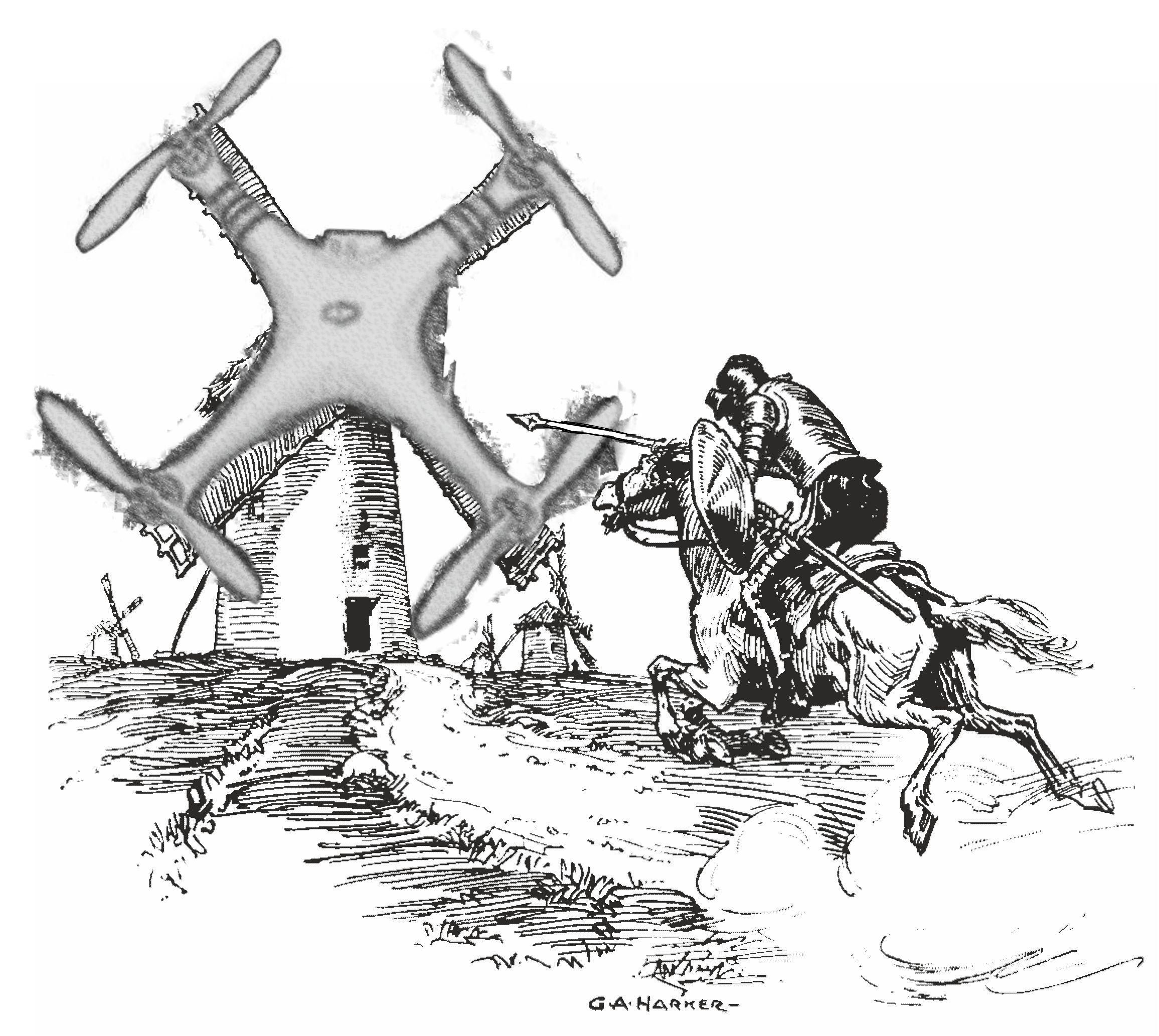 Drone Quixote
