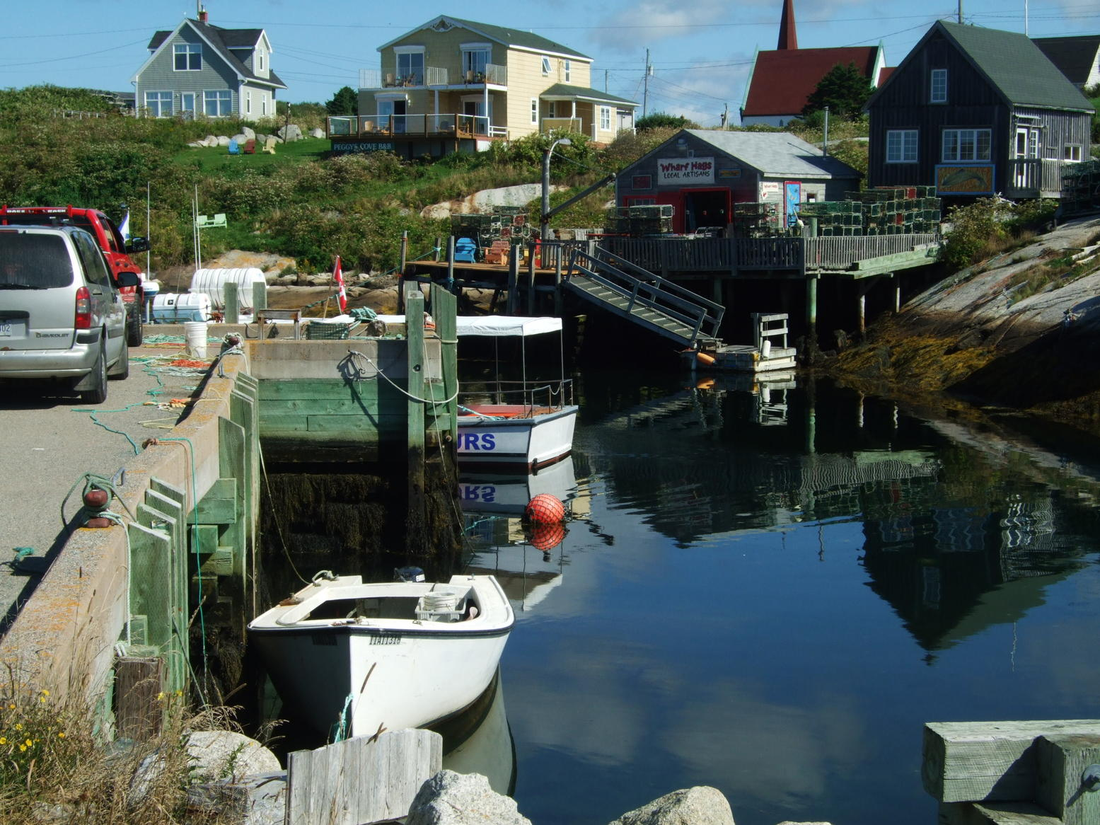 a nice little sea side fishing village between Halifax and Peggys Cove.