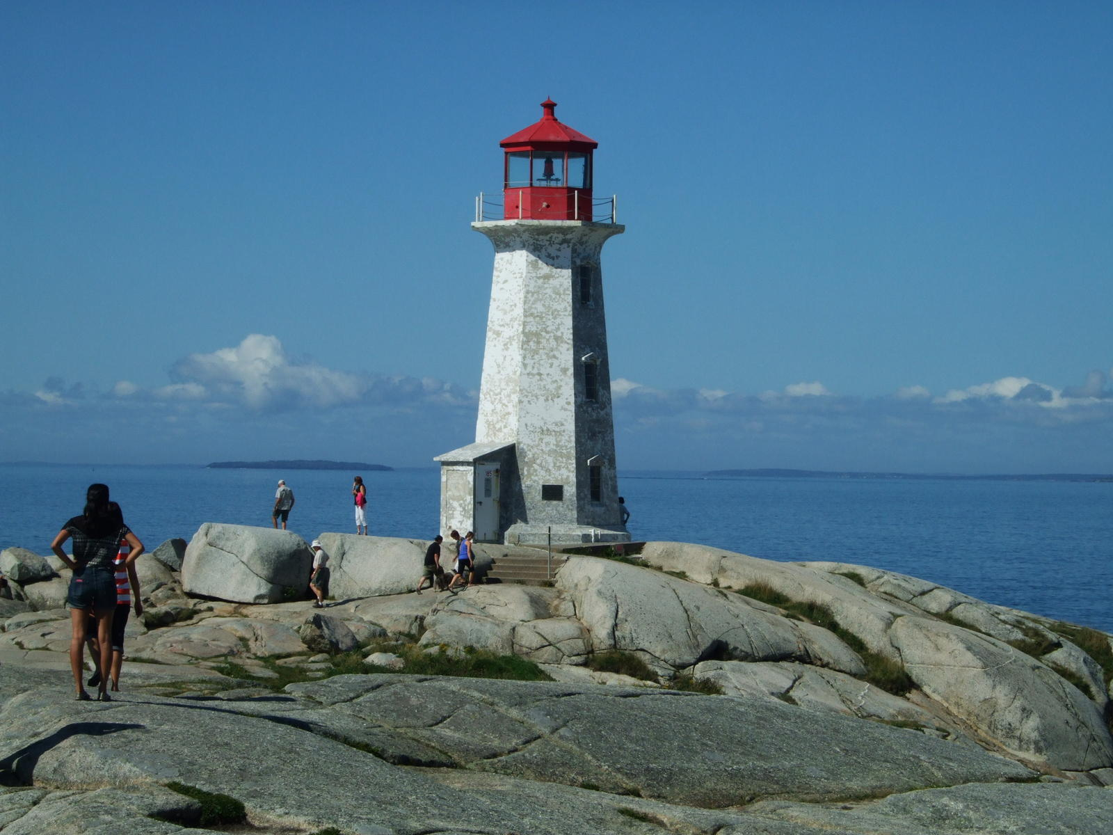 the light house at Peggys Cove