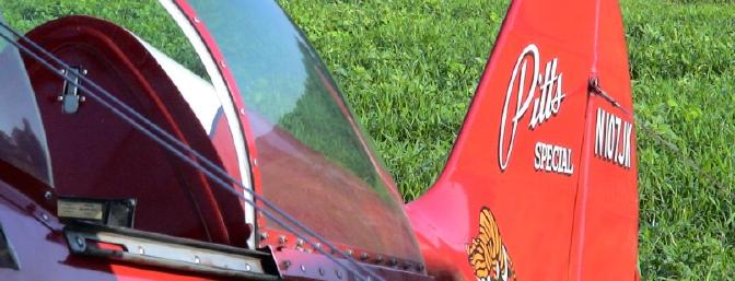 A full-scale Pitts was flown by George Hall - he performed a great aerobatic routine for the crowd.