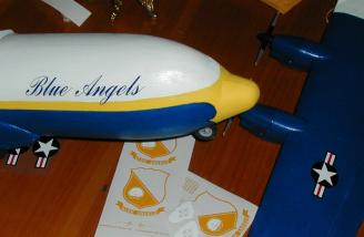 The Blue Angels lettering looks fantastic!