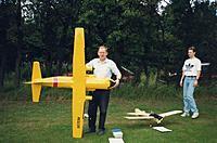"Name: C-160 Goosedale.jpg Views: 55 Size: 64.5 KB Description: 81"" span."