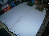 Name: m_003.jpg Views: 56 Size: 33.1 KB Description: You can just see the lightweight cloth on the deck join.