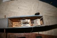 Name: elf (4).jpg Views: 167 Size: 38.3 KB Description: Originalmente volaba con un radio Cox de 2 canales, despu�s mi Padre compr� un radio Canon de 4 canales,  que sigue aun instalado, le cambiar� las pilar y lo usar� de nuevo, ya que aun funciona.