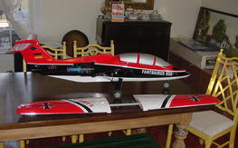 Nitroplanes fan trainer 600 bind and fly