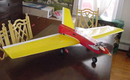 Bill evans scimitar deuce r/c airplane