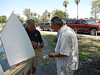 Name: Dennshowing Al how he aligns the rudder.jpg