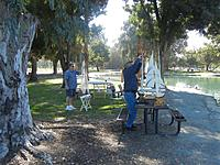 Name: Bill and Richard setting up.jpg
