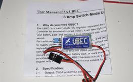 hobbywing UBEC 3 AMP 5 MAX 2-6 cell lipo<< NEW>>>