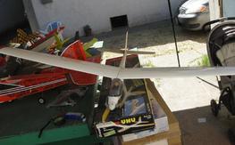 UHU graupner electric glider<<<<<LPU>>>>CA