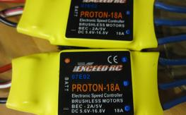exceed RC 18 amp ESC's (2) <<<<<<<