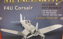 3D laser cut model F4U Corsair<<<<<NEW>>>