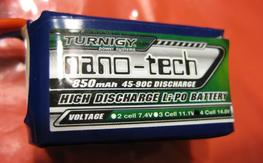 Turnigy nano-tech 850mAh 4S 45~90C <<NEW>>