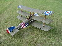 Name: Model-Sopwith Triplane by Dean Lukover-quarter scale.jpg