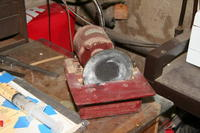 Name: Homemade miniature disk sander.JPG