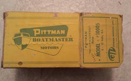 Vintage Pittman Boatmaster #10005