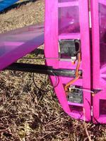 Name: Servos in Rudder.jpg