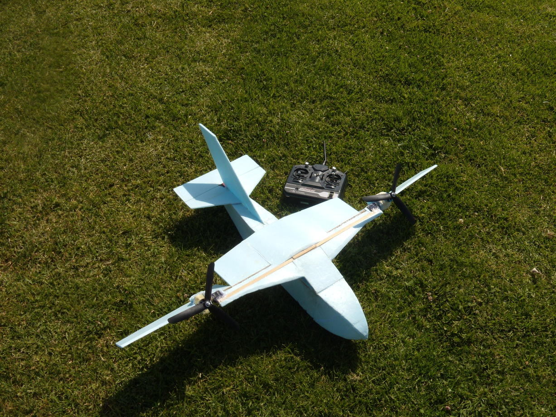 VTOL Airplane- 8 Minute Flight Time