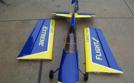 Extreme Flight 540T RC Airplane Never Flown