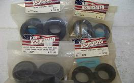 NIP (4) Pair Associated 1/12th Scale Tires