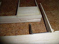 Name: SAM_0190.jpg Views: 287 Size: 186.0 KB Description: Hole and slots drilled for the horn / rod