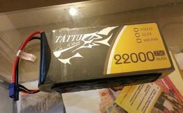 Tattu 22.000 mah 6s 25 c Battery