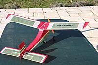"Name: Cardinal4.jpg Views: 78 Size: 203.6 KB Description: 100 watt ""bell"" motor and 2s 800 lipo"