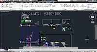 Name: Retracts DWG 1.jpg Views: 90 Size: 230.5 KB Description: A350-900 Autocad Drawing