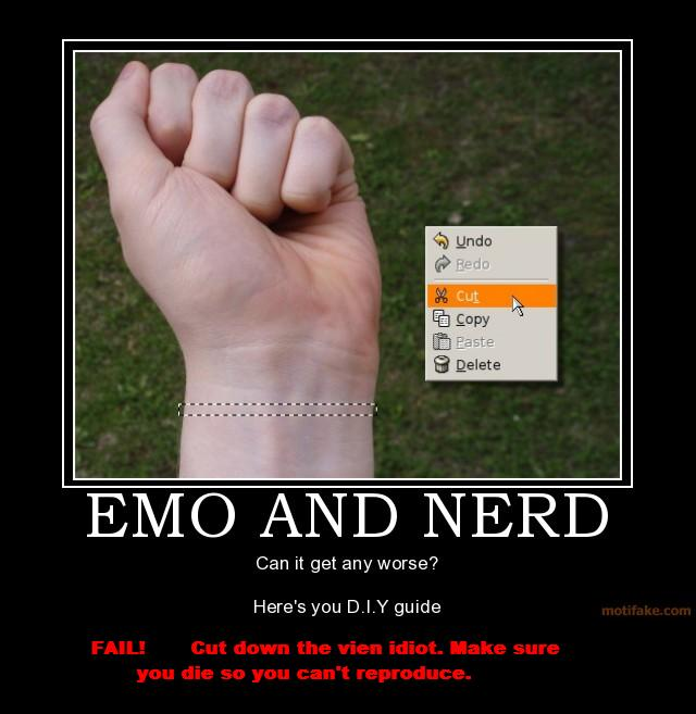 Emo Quotes About Suicide: Attachment Browser: Emo-and-nerd-emo-nerd-cut-suicide