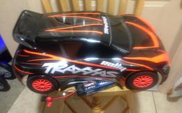 1/10 traxxas rally and hpi flux