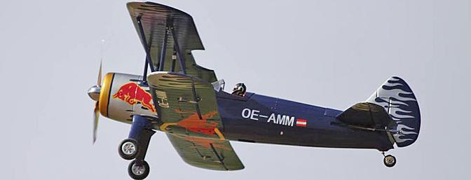 """Flitework PT-17 Stearman """"Red Bull"""""""