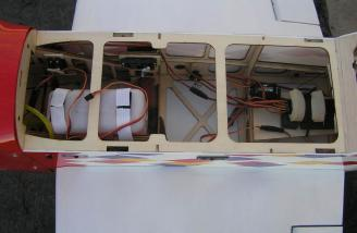 Top view with hatch removed.