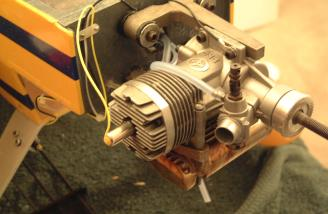 The TT120 was mounted and ready for cowling.