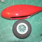 Grove in fiberglass wheel pant aligns itself well with the plane.