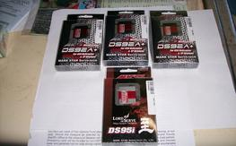 3 mks  ds92A+ cyclic and 1 ds95i tail servo new