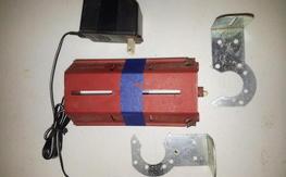 12v starter battery holder