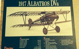 Proctor 1/4 true scale ALBATROS DVa kit. NIB