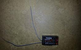 Futaba receiver R6008HS 8Ch 2.4 Ghz FASST