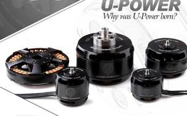 T-motor's U3 motors 700Kv x 4