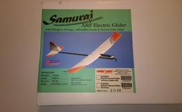 EScale Samurai glider NIB with power system and servos