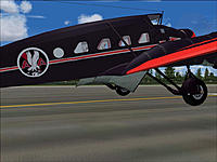 Name: Stinson Model A landing gear and flap.jpg