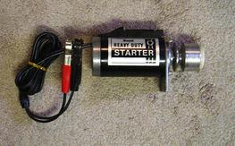 Royal Heavy Duty 12V Starter, near new