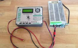 AstroFlight 109 charger and 120 power supply