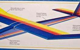 "Eclipse Deluxe Electric Powered Sailplane NIB 78""... Just $89 with FREE SHIPPING"